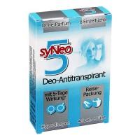 SyNeo5 Deo-Antitranspirant - Дорожные салфетки